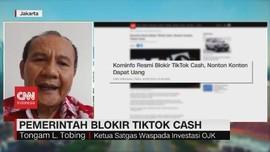 VIDEO: Pemerintah Blokir Tiktok Cash