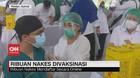 VIDEO: Ribuan Nakes di Sumut Divaksinasi