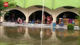 VIDEO: Banjir Mulai Surut, Warga Tetap Mengungsi