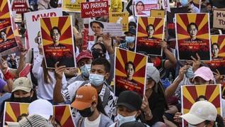 Ekspor RI ke Myanmar Bakal Terpengaruh Efek Kudeta
