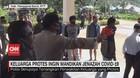 VIDEO: Keluarga Protes Ingin Mandikan Jenazah Covid-19