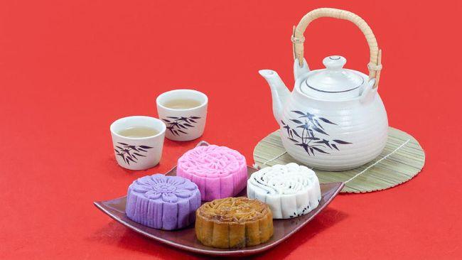 Festival Musim Gugur di China juga disebut Festival Kue Bulan sebab perayaan tidak lepas dari sajian kue bulan. Berikut resep kue bulan atau mooncake.