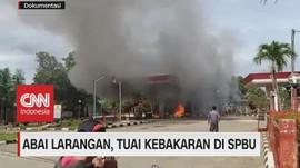 VIDEO: Abai Larangan, Tuai Kebakaran di SPBU
