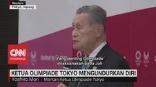 VIDEO: Ketua Olimpiade Tokyo Mengundurkan DIri