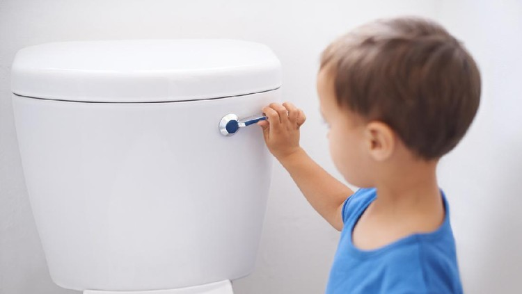 Ilustrasi toilet training