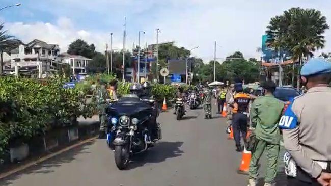 Polres Bogor Kota telah menangkap kelompok pengendara motor gede (moge) yang sempat lolos operasi ganjil genap pada Jumat (12/1) kemarin.