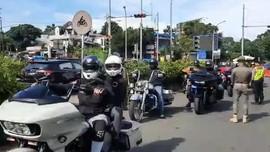 Kronologi Rombongan Moge Pelanggar Ganjil Genap di Bogor