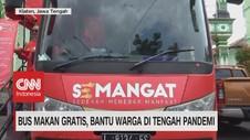 VIDEO: Bus Makan Gratis, Bantu Warga di Tengah Pandemi