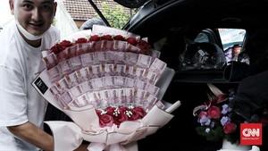 FOTO: Bunga Valentine Sepi Pembeli
