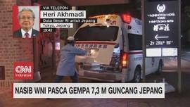 VIDEO: Nasib WNI Pasca Gempa 7,3 M Guncang Jepang