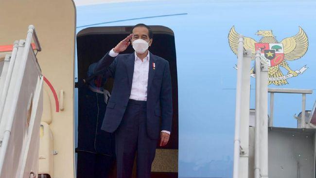 Presiden Jokowi dijadwalkan mengunjuni Kabupaten Sumba Tengah dan Maumere, NTT, untuk meninjau food estate dan bendungan.