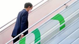 Jokowi Resmikan Bendungan Tapin Senilai Rp986 M di Kalsel