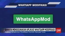 VIDEO: Bahaya Menggunakan Aplikasi Whatsapp Modifikasi
