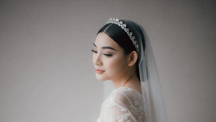 Cantiknya Patricia Devina di Hari Pernikahan, Simple But Gorgeous!