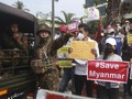 Ajak PNS Demo Lawan Kudeta, 6 Seleb Myanmar Diburu Militer