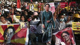 AS Kembali Sanksi Dua Pemimpin Junta Militer Myanmar