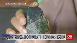 VIDEO: Peneliti: Air Rendaman Meteorit Berbahaya