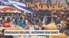 VIDEO: Pengunjung Berjubel, Waterpark Kena Sanksi