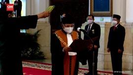 VIDEO: Presiden Jokowi Lantik Wakil Ketua MA