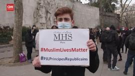 VIDEO: Aksi Unjuk Rasa Menentang RUU Lawan Ekstremisme Islam