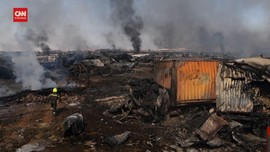 VIDEO: Kondisi Pelabuhan Afghanistan Usai Ledakan Besar
