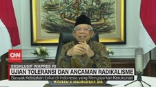 VIDEO: Ma'ruf Amin Tanggapi Isu Radikalisme