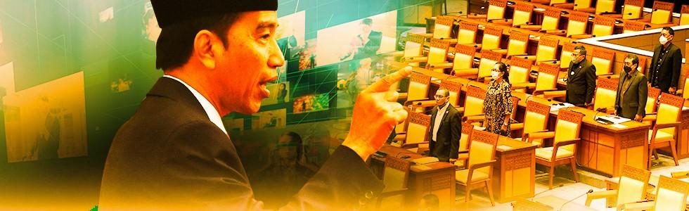 Jokowi Dorong Revisi UU ITE
