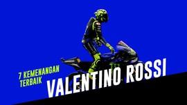 INFOGRAFIS: 7 Kemenangan Terbaik Rossi di MotoGP