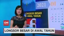 VIDEO: Longsor Besar di Awal Tahun
