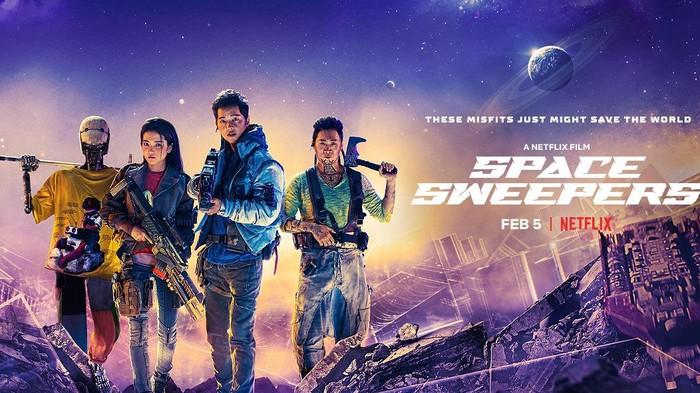Potret Petualangan Song Joong Ki di Luar Angkasa dalam Film Space Sweepers