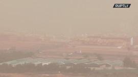 VIDEO: Badai Pasir dari Gurun Sahara Terjang Kepulauan Canary