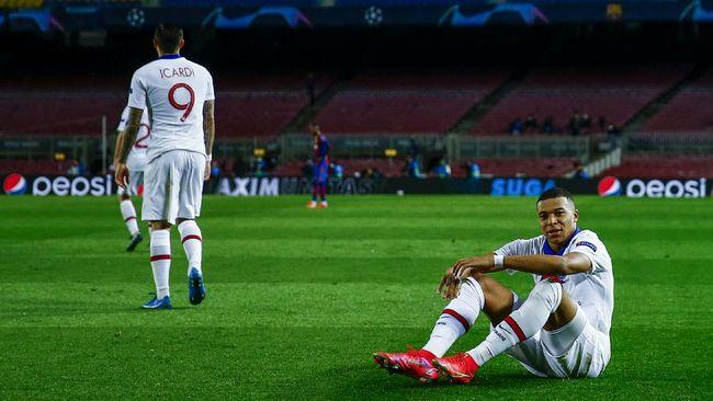 Penyerang PSG Kylian Mbappe mengancam akan membunuh bek kiri Barcelona Jordi Alba saat kedua tim bertanding di Liga Champions.