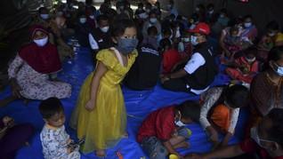 Kebakaran Kilang Balongan, 912 Warga Mengungsi 3 Hilang