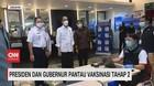 VIDEO: Jokowi & Anies Pantau Vaksinasi Pedagang Tanah Abang