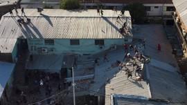 FOTO: Kerusuhan Pecah di Penjara Paraguay