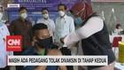 VIDEO: Dipantau Jokowi, Masih Ada Pedagang Tolak Divaksin