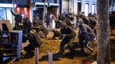 Kerusuhan terjadi di Kota Barcelona, Spanyol, setelah kepolisian setempat menangkap seorang rapper, Pablo Hasel.