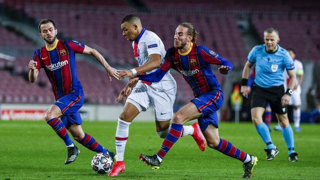Jadwal Liga Champions: PSG vs Barcelona