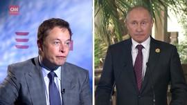 VIDEO: Putin Diajak Elon Musk Ngobrol di Clubhouse