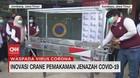 VIDEO: Inovasi Crane Pemakaman Jenazah Covid-19