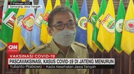 VIDEO: Pascavaksinasi, Kasus Covid-19 di Jateng Menurun