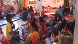 VIDEO: 1 Pengungsi Longsor Nganjuk Positif Covid-19