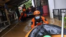 Riza: Cipinang Melayu Banjir karena di Bawah Permukaan Laut