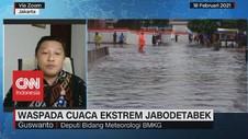 VIDEO: Waspada Cuaca Ekstrem Jabodetabek