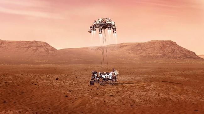 Ahli: Letusan Gunung Maha Dahsyat Bikin Suram Planet Mars