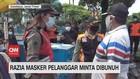 VIDEO: Razia Masker Pelanggar Minta Dibunuh