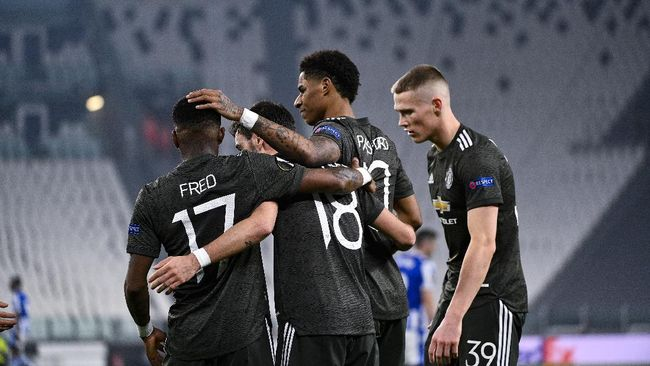 Man Utd yang menang 4-0 atas Real Sociedad di leg pertama 32 besar Liga Europa pernah memiliki sejarah buruk dalam leg kedua di pentas Eropa.