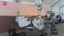 VIDEO: Intip Tampang Robot NASA yang Mendarat di Mars