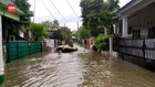 VIDEO: Banjir Rendam Perumahan IKIP Jatikramat