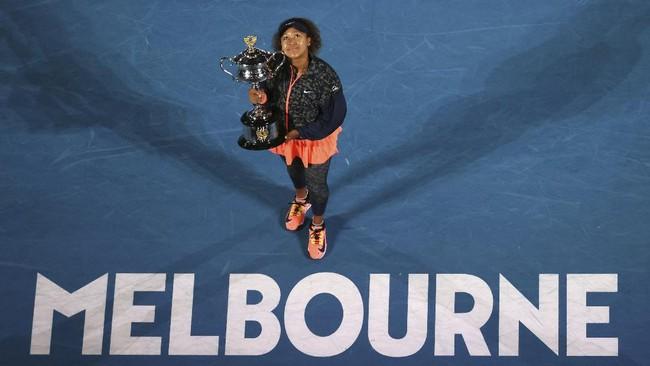 FOTO: Naomi Osaka Raih Gelar Australia Open Kedua